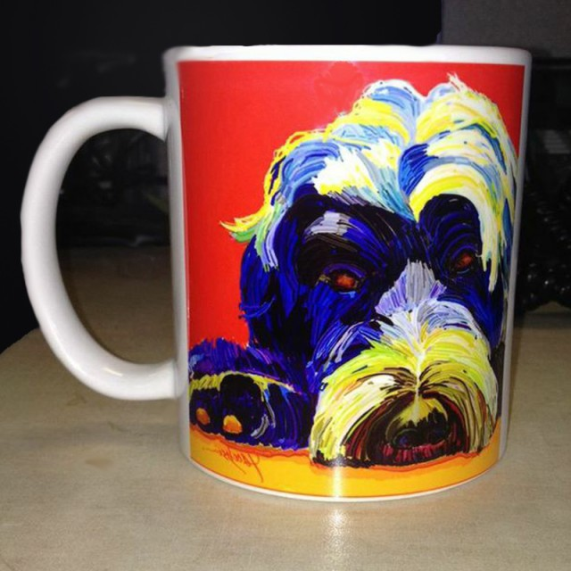 Portuguese Water Dog - Coffee Mugs
