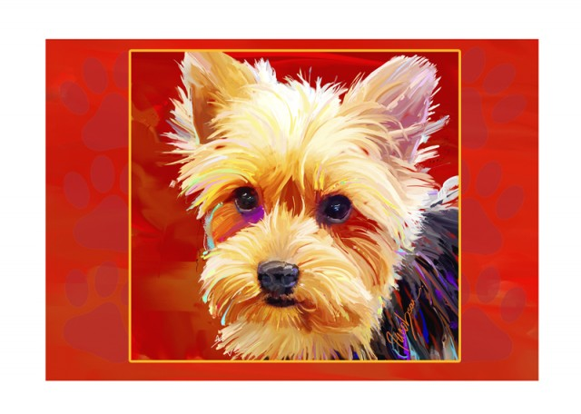 Note cards - Yorkie