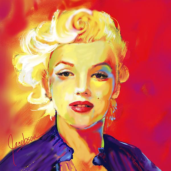 Paintings - Marilyn Monroe